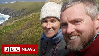'Our Irish island is the last stop before America' - BBC News