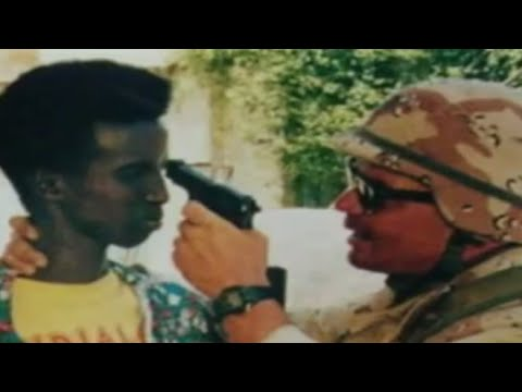 1993 year  Somalia and United States of America helicopter fire on peaceful people