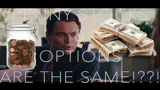 Why PENNY STOCKS are EXACTLY like OPTIONS TRADING- How I turned $300 into $3,000 Swing Trading