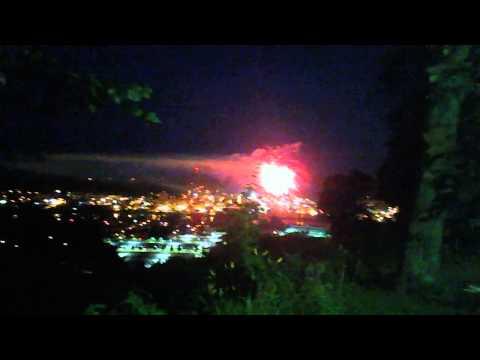 Wheeling WV Fireworks June 24th,2015