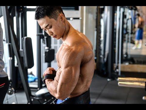 [개근질닷컴]보디빌딩 세계챔피언 설기관 팔 운동 / Bodybuilding World Champion Ki Kwan Seol arm workout