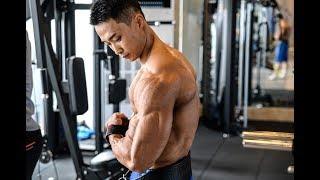 개근질닷컴 보디빌딩 세계챔피언 설기관 팔 운동 / Bodybuilding World Champion Ki Kwan Seol Arm Workou