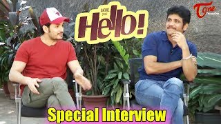 Nagarjuna & Akhil Special Interview About Hello Movie | Akhil, Kalyani Priyadarshan
