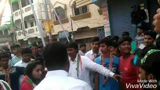 Congress Party Rally SudhaTalkies Shalibanda New Road Khilwat Party Office Congress par End