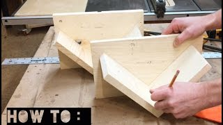 Learn how to make a simple woodworking box spline jig from scrap material quickly and on a budget. This jig allows you to add nice
