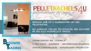 Pelletkachel Brouwer-Trading