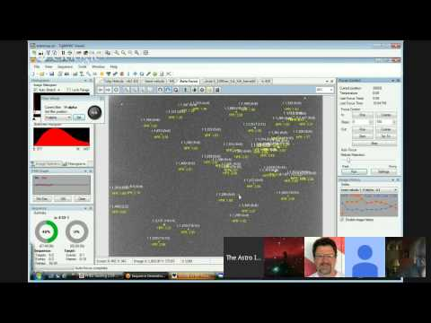 LIVE:Autofocus Using Sequence Generator Pro