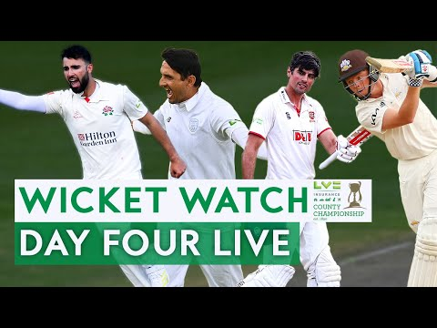🔴 LIVE Wicket Watch Day 4 | Final Round LV= Insurance County Championship