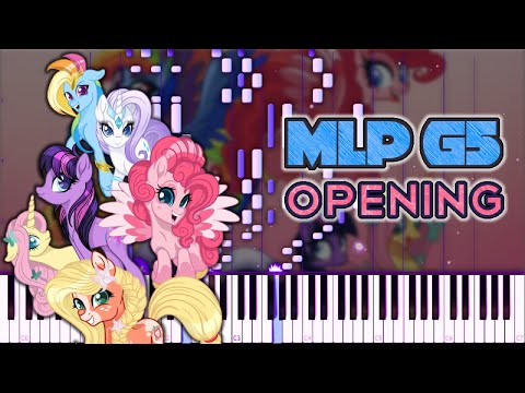 [CONCEPT] MLP G5 Opening // Piano Tutorial +MIDI Download