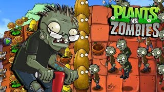 LOS ZOMBIES SALTIMBANQUIS MINIJUEGOS - Plants vs Zombies