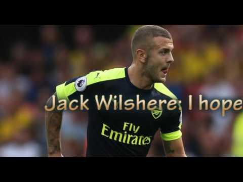 Jack Wilshere: I hope midfielder spends career at Arsenal   Arsene Wenger