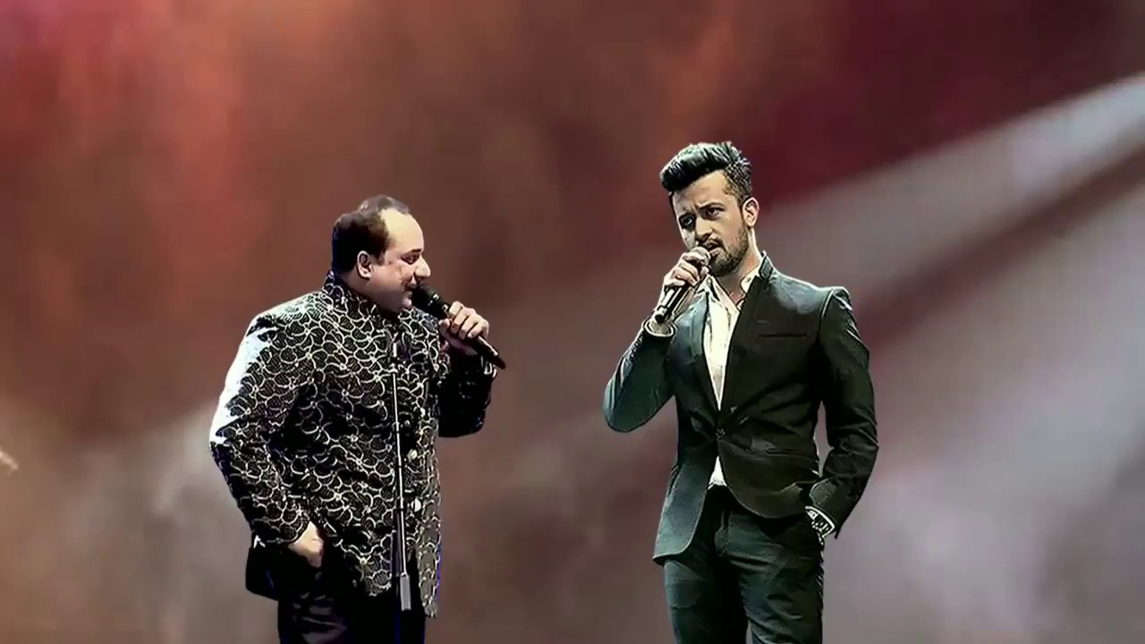 Image result for T-Series Is Back Again with Atif Aslam, Rahat Fateh Ali Khan Songs