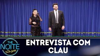 Entrevista com Clau | The Noite (16/11/18)
