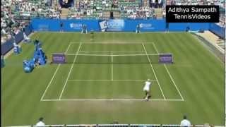 Bartoli vs Wozniack 2012 Eastbourne Highlights