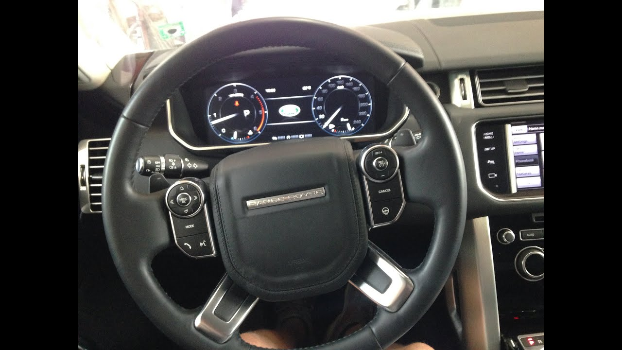 Range Rover Vogue 2015 Interior - YouTube