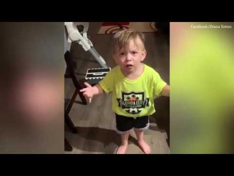 Deuce - Florida 2 Year Old Rants About Mom Not Kissing Him Before She Goes To Work