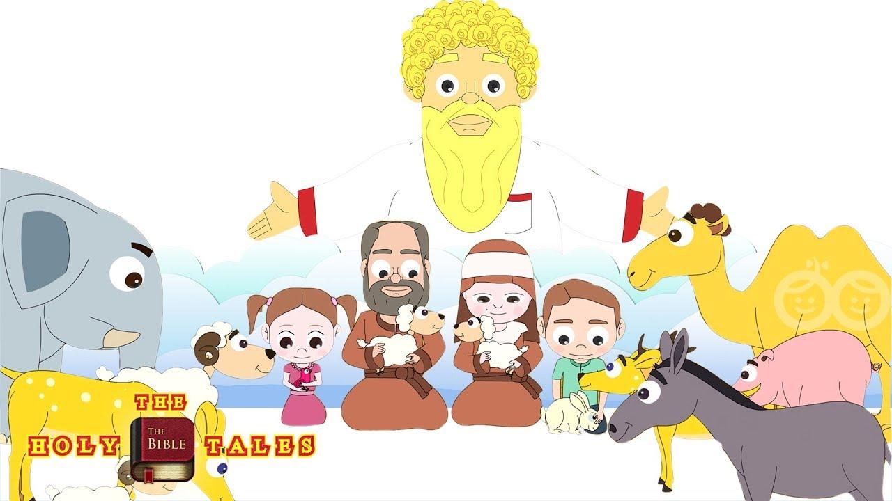 the rainbow of god u0027s promise i book of genesis i animated