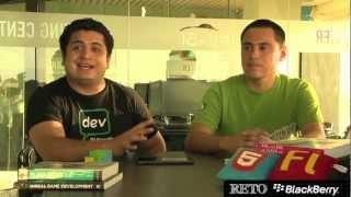 Sergio Brito y Elder Vasquez - Reto BlackBerry