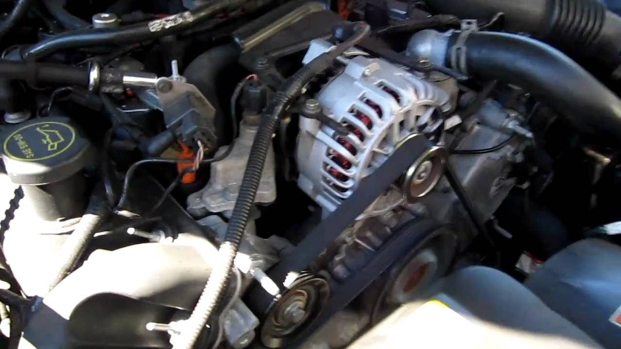 hight resolution of bad water pump 2003 crown vic