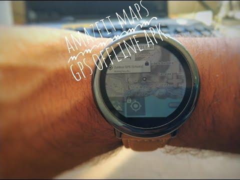 Amazfit Pace Watch Maps + GPS offline - NEW APK - Amazfit
