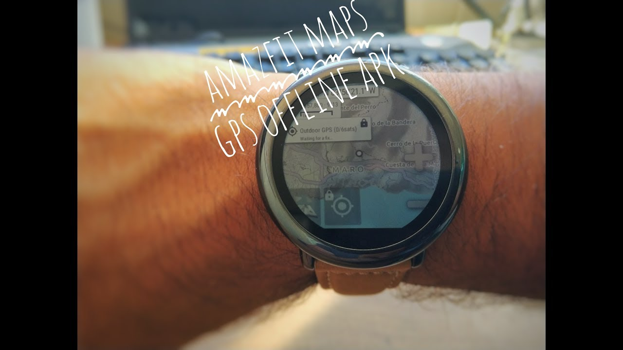 Amazfit Pace Watch Maps + GPS offline - NEW APK - Amazfit