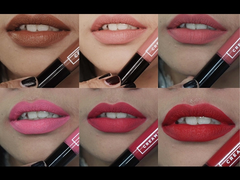 emina-cream-matte-all-shades-lip-swatches-&-review-|-jihan-putri