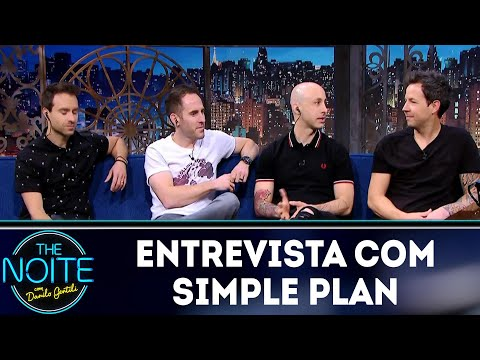 Entrevista com Simple Plan | The Noite (28/05/18)