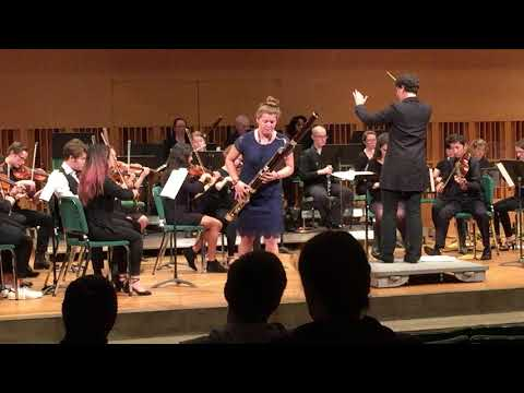 Weber Bassoon Concerto in F Major Wesleyan University Concerto Competition 2018