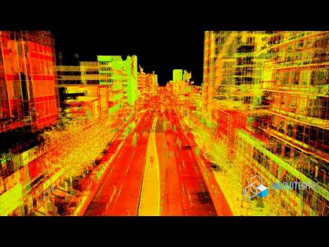 Mobile Laser Mapping - West Broadway Vancouver