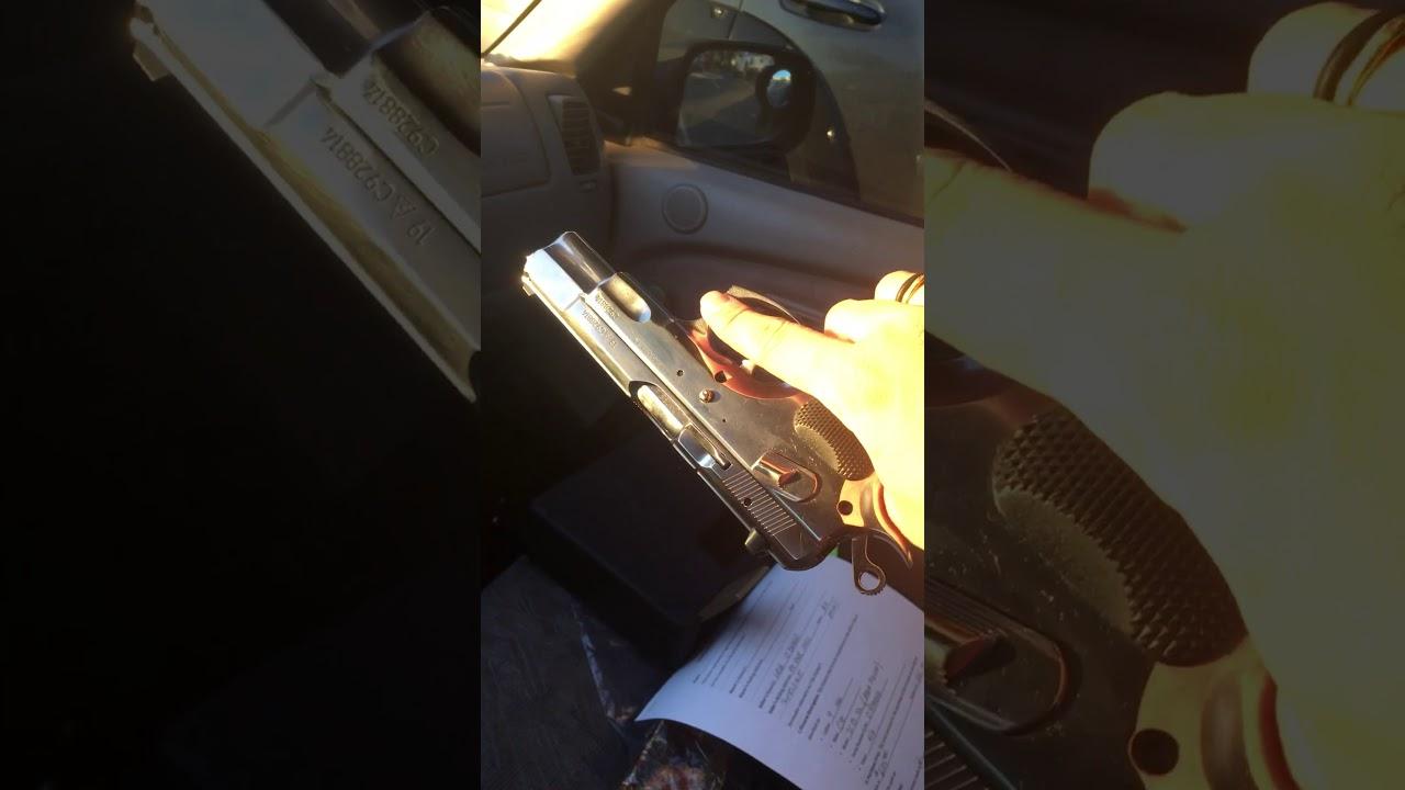 Súng ngắn 9mm CZ 75B High Polished-Đẹp dịu dàng và rất chói nắng