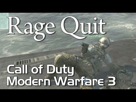 Rage Quit - Call of Duty: Modern Warfare 3