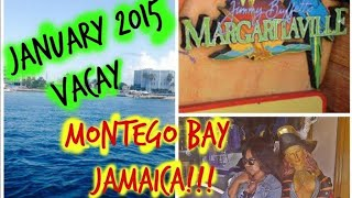 My Carnival Cruise - Montego Bay Jamaica - January 2015 Dream Ship