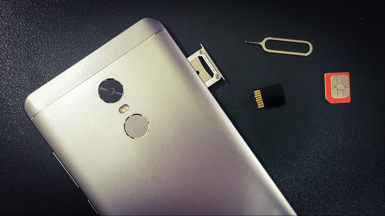 inserer carte sim redmi note 5 How To Insert Sim Card and Micro SD Card In Xiaomi Redmi Note 4