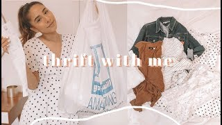 THRIFT WITH ME & GOODWILL HAUL | HOME DECOR & FALL 2019