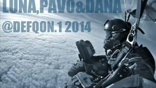 Luna, Pavo & Dana @ Defqon.1 2014