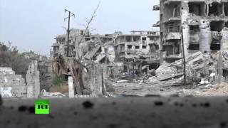 Подземная война в пригородах Дамаска: сирийская армия ведет наступление в Джубаре