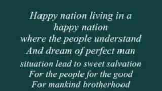 Happy Nation - Ace Of Base Lyrics