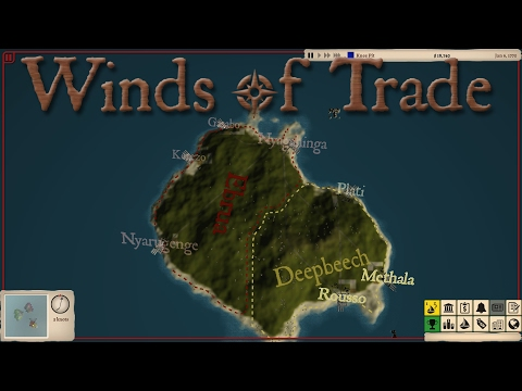 Winds of Trade Lets Play - Automated Trading and Pirates