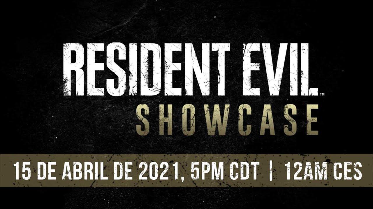 Resident Evil Showcase – Abril 2021