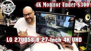 4k Monitor Under $300