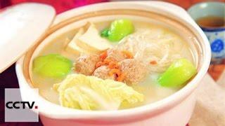 Китайская кухня: Капуста в бульоне