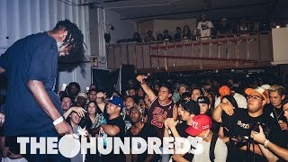 SPITSET :: FATHER, BOOGIE, JAZZ CARTIER LIVE :: THE HUNDREDS