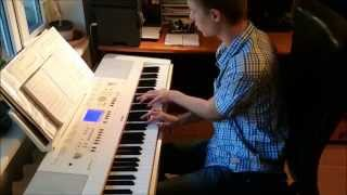 M.Brauns - Saule, Pērkons, Daugava (klavieres/piano cover) - Arranged by Toms Mucenieks