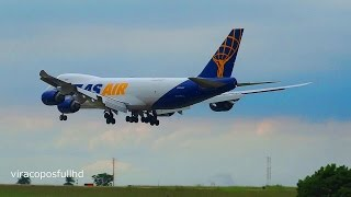 Cargueiro Boeing 747-8F Atlas Air HD