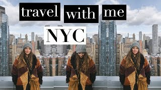 NEW YORK CITY TRAVEL VLOG #1 | WE FINALLY MADE IT
