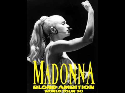 Madonna - Like a Virgin (Blond Ambition Studio version)