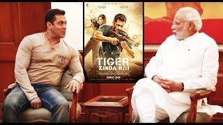 Salman Khan हुये खुश Modi JI ने जमकर तारीफ किया Tiger Zinda Hai का AKT News