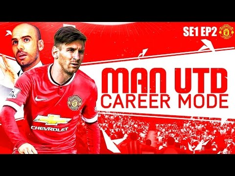 FIFA 16 Pep's Manchester United Career Mode: Chasing January Transfer Rumours SE1 EP2