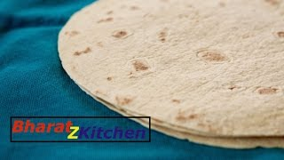 Easy Homemade Whole Wheat Tortilla - Recipe by bharatzkitchen