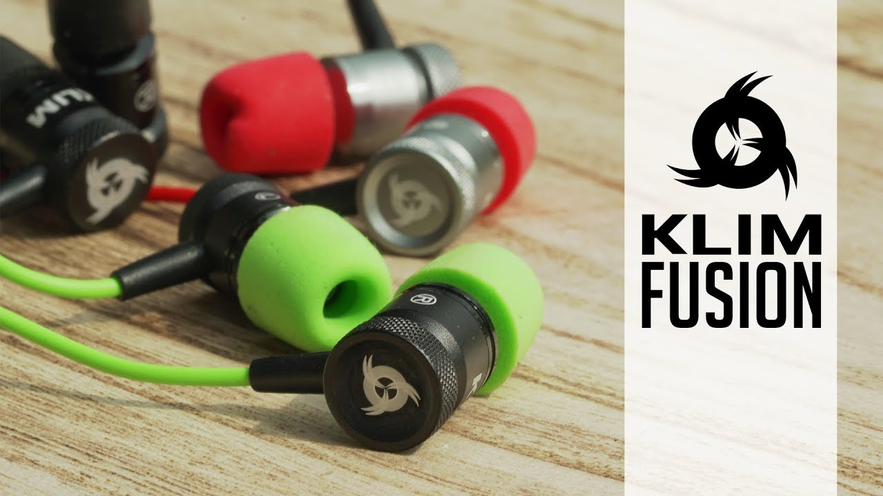43e82d61526 KLIM Fusion - Innovative and durable earphones - YouTube